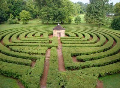 New Harmony Labyrinth, Indiana